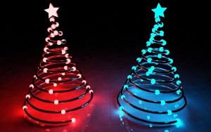 Sfondo Natale 3D