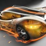 Sfondo 3D Peugeot concept