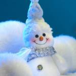 Sfondo iphone Natale pupazzo di neve