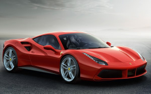 Wallpaper Ferrari 488 gtb