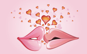 Sfondi HD San Valentino bacio
