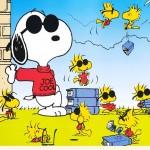 Sfondi HD cartoon Snoopy linus