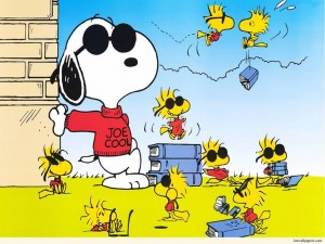 Sfondi HD cartoon Snoopy linus