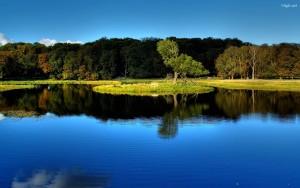 Sfondo Hd paesaggio naturale lago