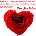 Auguri di San Valentino con dedica