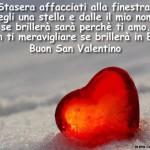 Auguri di San Valentino con dedica d'amore