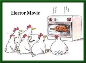 Vignetta per Facebook divertente - tra polli