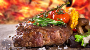 Immagine bistecca alle spezie