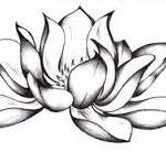 Tattoo fiore di loto 3d