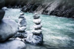 Sfondo acqua natura zen