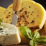 Sfondo formaggi tipici