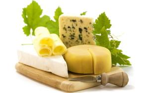Sfondo tagliere di formaggi