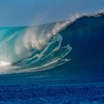 Sfondo HD onda oceano